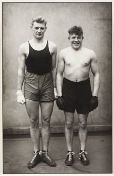 Boxers 1929 by August Sander