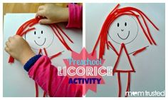 I love preschool learning activities that I can customize many, many different ways and activities that don't break the bank. In my previous life as a preschool teacher, we often did this Twizzlers activity. Not only can you purchase the licorice for $1 at the local dollar store and get enough licorice strands for a few [...]