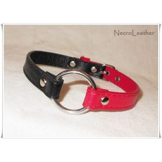 Harley Quinn Collar Faux Leather BDSM Collar ($26) ❤ liked on Polyvore featuring jewelry, necklaces, steel jewelry and steel necklace