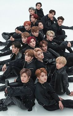 Meme Faces Discover NCT 2018 Black on Black Photoshoot All Memebers Poster by AegyoKings