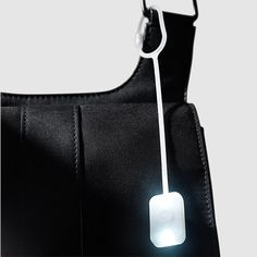 Attach this pocket light with a super-bright LED to your hand bag and easily illuminate its interior when retrieving items.