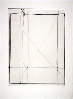 Richard Diebenkorn, http://#1, from Nine Drypoints and Etchings, 1977