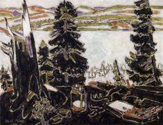 David Milne Painting Place III 1930
