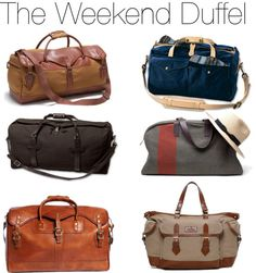 The weekend duffel