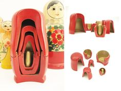 *taking a different look at the inside of the traditional Russian nesting doll.--- inonrettig