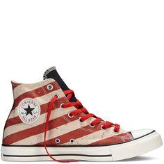 8b9b9abbcdf6 Converse Chuck Taylor All Star American Flag Hi Men Sneakers Size  M 8.5  W