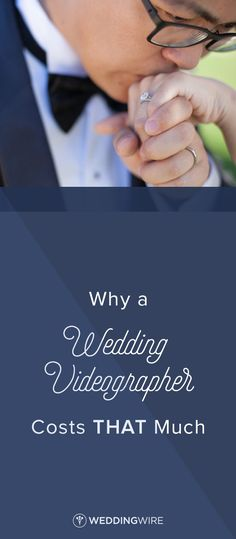 Why a Wedding Videographer Costs THAT Much - Explore the reasons wedding videographers might cost more than you expect from insurance to equipment and more on @weddingwire! {Dove Weddings}