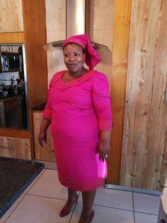 Glamorous Shweshw e Dresses 2020 ⋆ African Attire, African Wear, African Fashion Dresses, African Dress, Women's A Line Dresses, Shweshwe Dresses, Dress Making, Just In Case, Plus Size Fashion