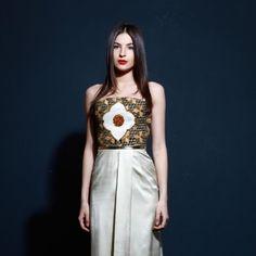 Strapless Evening Dress on TROVEA.COM
