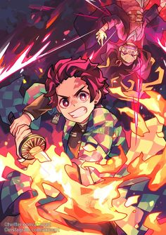 34 Best Wallpaper Kimetsu No Yaiba Otaku Anime, Manga Anime, Anime Art, Demon Baby, Demon Hunter, Dragon Slayer, Slayer Anime, Anime Sketch, I Love Anime