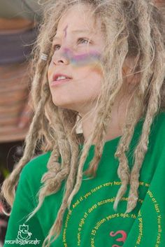 love the little ones with dreads <3
