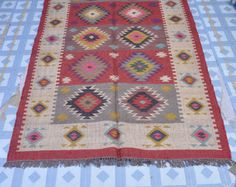 Hand Made Wool/Jute Rug,Decorative Rugs,Rug Rag,Place Mat Area Rug Durri
