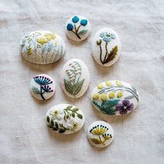 Image may contain: food Embroidery Stitches, Hand Embroidery, Embroidery Ideas, Miscellaneous Goods, Mom Blogs, Sewing Projects, Textiles, Knitting, How To Make