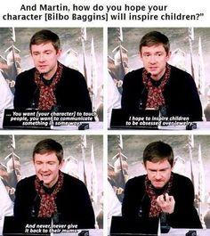 How Bilbo is going to inspire children