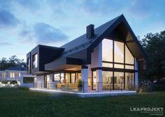 Projekty domów LK&Projekt LK&1336 wizualizacja 13