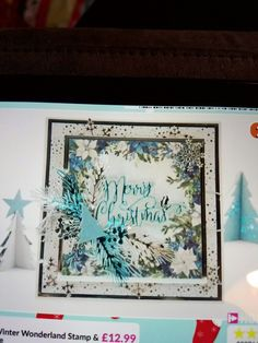 Diy Christmas Cards, Christmas Countdown, Christmas Ideas, Xmas, Crafters Companion Christmas Cards, Winter Wonderland, Card Ideas, Crafting, Scrapbooking