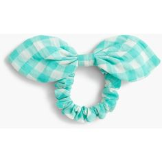 J.Crew Bow Hair Tie ($17) ❤ liked on Polyvore featuring accessories, hair accessories, ponytail hair ties, bow hair ties, bow hair accessories, j crew hair accessories and elastic hair ties