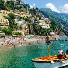 Positano, Maiori, Italy — by CrazyTravelista. While staying in beautiful Positano, make sure to take a boat to the island of Capri for a day trip. There are many...