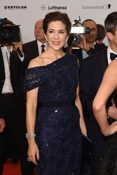 Princess Mary attends Kryolan at the Bambi Awards 2014