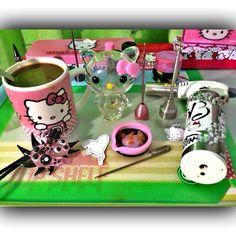 Instafire: Pothead Princess Hello Kitty Heady Dab Set | Weedist