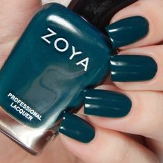Zoya Jubilee Holiday 2018 Collection; Danica Zoya Nail Polish, Nail Polish Colors, Gel Nails, Manicures, Short Nails, Long Nails, Zoya Collection, Polish Holidays, Long Nail Art