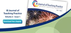 Promotion for the Journal, Vol 2, Issue 1 for the International Baccalaureate