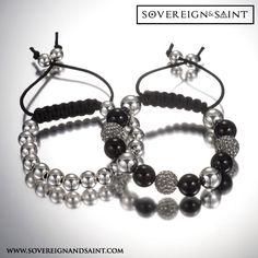 Swarovski & silver. #jewelry #mensfashion #swarovski #menswear #luxury