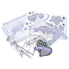 Wedding Car Just Married Decorating Kit