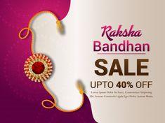 Happy raksha bandhan design with sale banner Rakhi Gifts For Sister, Gifts For Your Sister, New Instagram Logo, Raksha Bandhan Gifts, Make My Trip, Happy Rakshabandhan, Indian Festivals, Sale Banner, Fashion Necklace