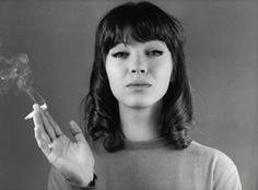 Anna Karina - born in Denmark, but spent her working life in France, and is a French citizen.  Godard muse and is famous for her dance scenes in 'Vivre Sa Vie', and 'Bande Apart', which inspired Tarantino for 'Pulp Fiction'.  I will also write a little about the other actresses on this board when I have a chance!