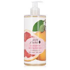 100% Pure Yuzu and Pomelo Glossing Shampoo