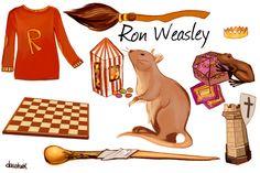 Harry Potter in details - Ron Weasley
