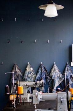 9928 nj repair shop soho1 Nudie Jeans Repair Shop in London
