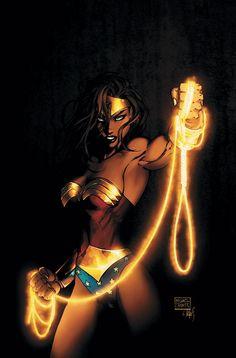 nitewing86:  Wonder Woman by Michael Turner