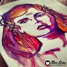 Biro, Erika, Painting, Painting Art, Paintings, Painted Canvas, Drawings