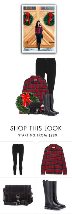 """""""Christmas Vibes"""" by hollowpoint-smile ❤ liked on Polyvore featuring Frame, Étoile Isabel Marant, Proenza Schouler and Fendi"""