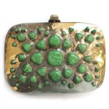 Bendall Clutch - Green Turquoise