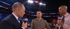 Stephen Curry of the Golden State Warriors after the 2017 JBL ThreePoint Contest at Smoothie King Center on February 18 2017 in New Orleans...