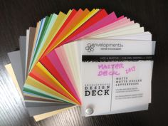 Invitation Card Stock Design Deck Come visit our shop in West Reading PA and see our samples and color decks... come and see what you can get!