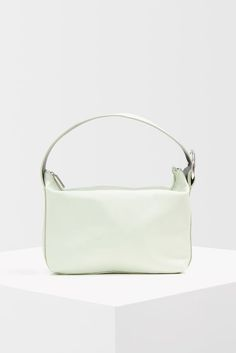 Add a contemporary shape to your bag options with this mint pyramid pouch. Topshop Style, Topshop Unique, You Bag, Asos, Pouch, Mint, Shape, Contemporary, Clothes