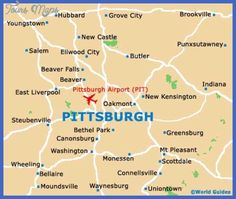 cool Pittsburgh Map