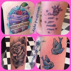 https://www.facebook.com/VorssaInk, http://tattoosbykata.blogspot.fi, #tattoo #tatuointi #katapuupponen #vorssaink #forssa #finland #traditionaltattoo #suomi #oldschool #pin up #rose #swallow #sparrow #cupcake