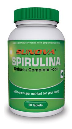 Sunova Spirulina 500Mg Buy Online at lowest price in India: BigChemist.com
