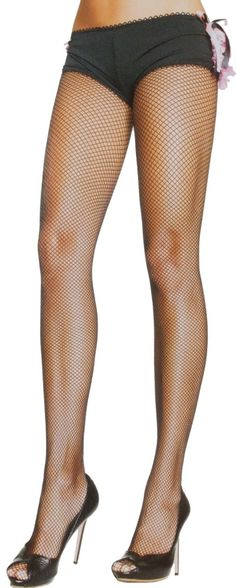 BLACK FISHNET STOCKINGS PLUS SIZE  Keep it classic with a pair of fishnet stockings! These fishnet stockings now are available in plus sizing for all you curvy pinup gals. A must for any pinups closet!  $5.00