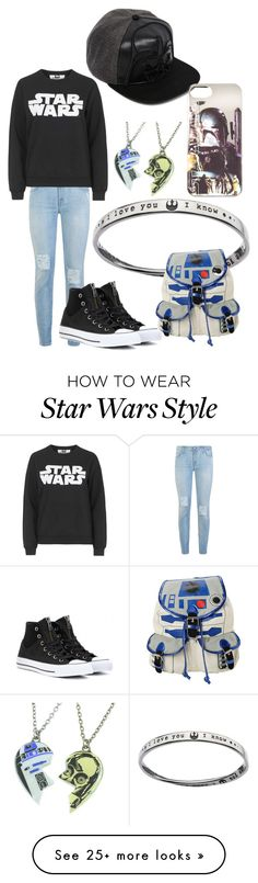"""""""STAR WARS!!"""" by lilprezby on Polyvore featuring 7 For All Mankind, Tee and Cake, Converse, R2 and ASOS"""