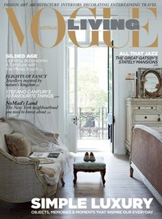 vogue living april 2013 click the image to purchase this back issue or subscribe - Vogue Decor Magazine