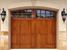 Diy Faux Wood Garage Doors