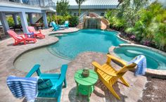 Summer House is a beautiful 8 bedroom home located in Holmes Beach, just a short 2 minute walk away from the white sandy beaches of the Gulf of Mexico--but that's not all. This home offers an outdoor Foosball table, Pool Table, Rooftop Deck with HOT TUB and much more!