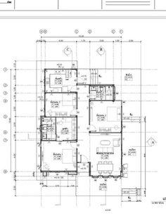 แบบบ้านชั้นเดียวยกพื้น 3 ห้องนอน 2 ห้องน้ำ สวยเหมือนหลุดมาจากนิตยสาร   ฟาร์มกี้.com 800 Sq Ft House, New Model House, Home Design Plans, Model Homes, Beautiful Homes, House Plans, Floor Plans, Exterior, House Design
