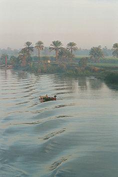 Amanecer en el  Nilo